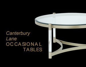 Canterbury Lane Occasional Tables and Entertainment