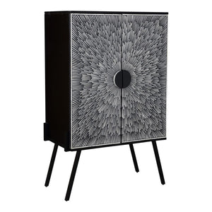 SUNBURST WINE CABINET