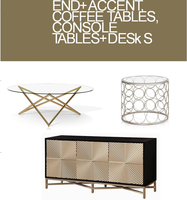 Occasional Tables and Consoles Catalogue