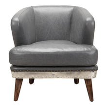 CAMBRIDGE CLUB CHAIR ANTIQUE GREY