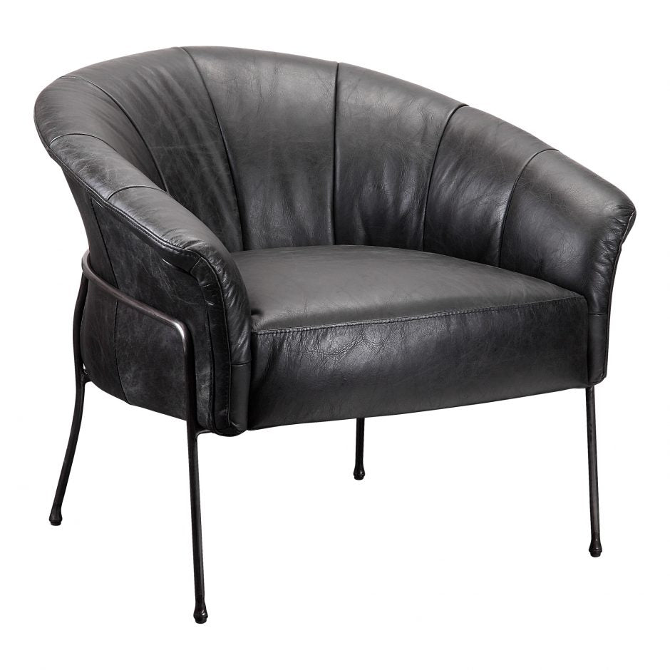 GORDON ARM CHAIR BLACK
