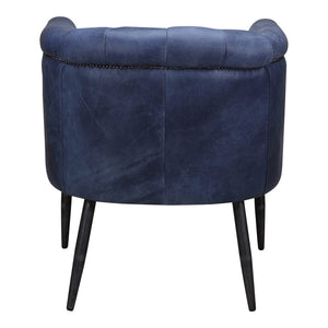SHAPKIN LEATHER ARM CHAIR