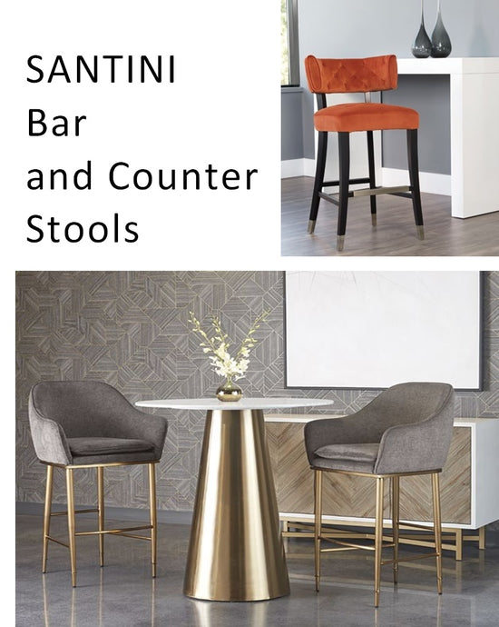 SANTINI Bar and Counter Stools Catalogue