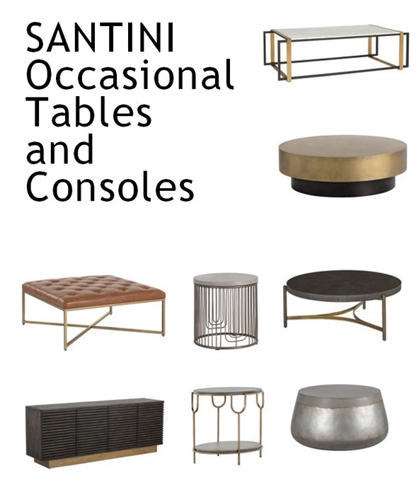 SANTINI Occasional Tables and Consoles