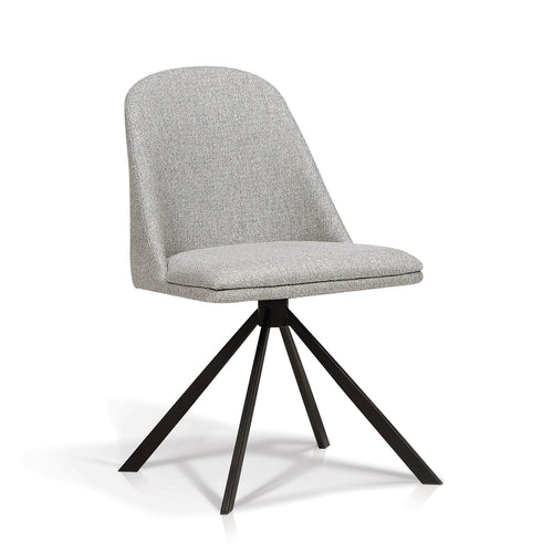 Leoni swivel side chair