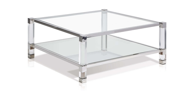 Yanai Cosmopolitan Sq Coffee Table - Living