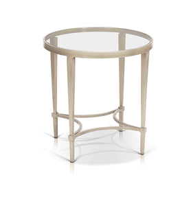 Mitzi Rnd Cosmopolitan End Table - Living