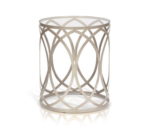 Gracie Rnd Cosmopolitan End Table - Living