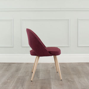COCO Chair Red Fabric