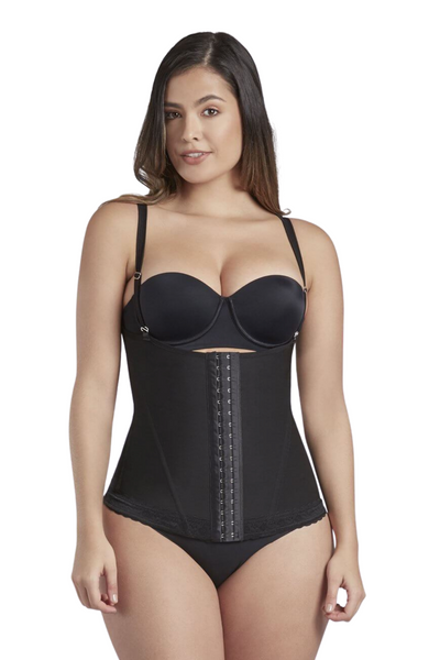 SCULPTING OPEN BUST VEST - Bombshell Curves