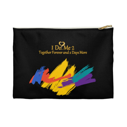 Black/Colorful IdoMe2 Accessory Pouch