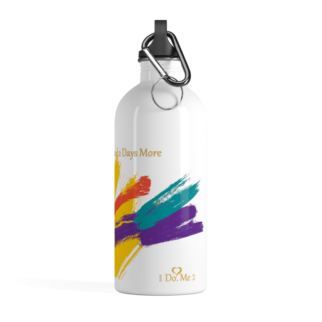 Stainless Steel Multi-color I Do Me2 Water Bottle