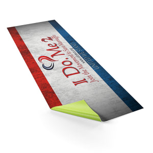 Red White & Blue IdoMe2 Yoga mat