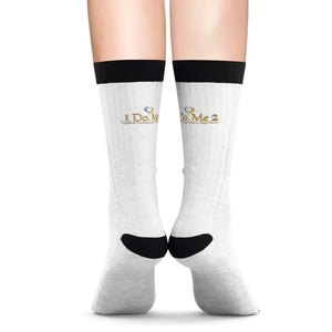 Gold/silver IdoMe2 Sublimation Socks