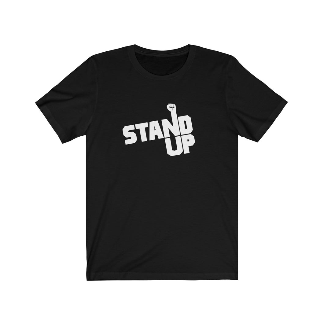 Stand Up Short Sleeve Tee by Elijah Jamal