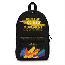 I Do Me 2 JOIN THE MOVEMENT Backpack (Made in USA)