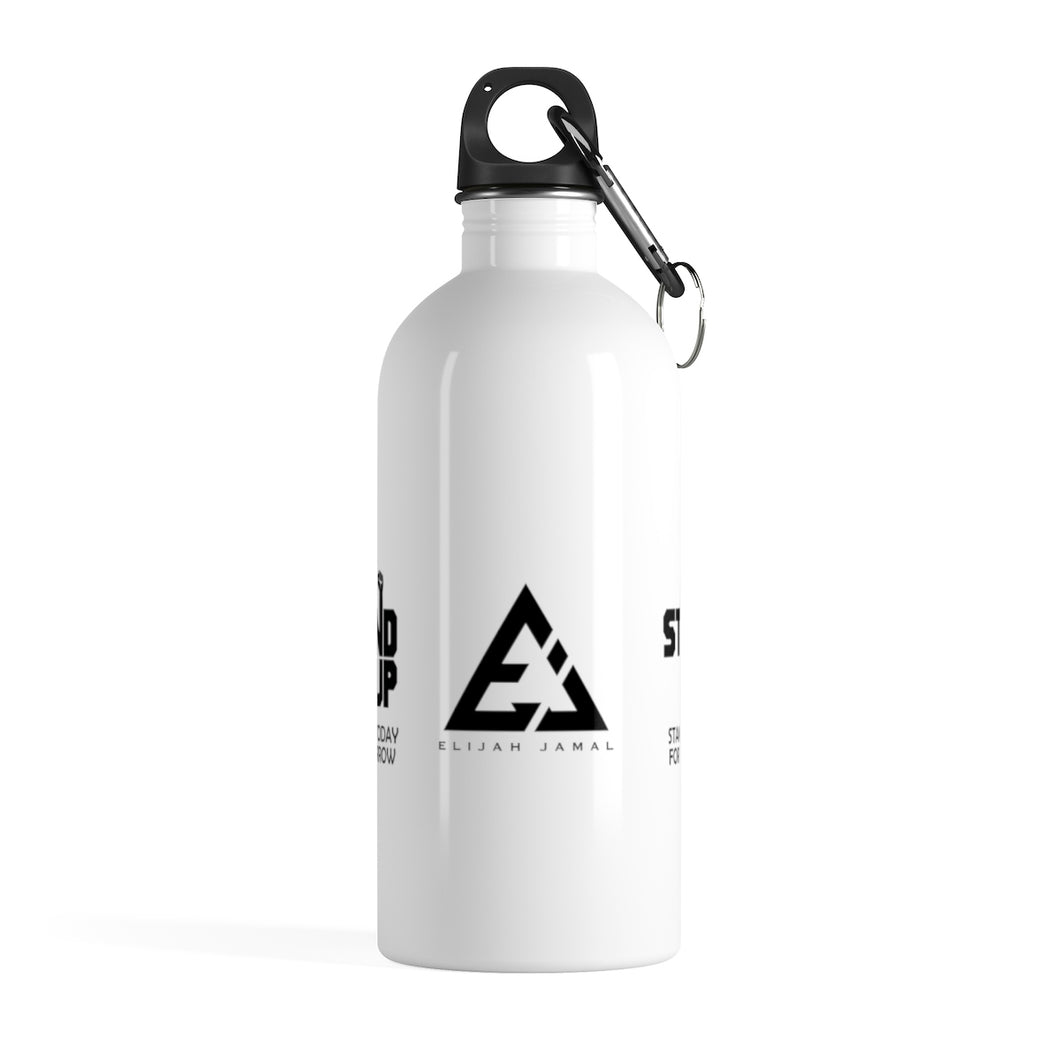 Stand Up Stainless Steel Water Bottle by Elijah Jamal
