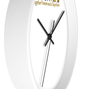 Gold/Silver IdoMe2 Wall clock