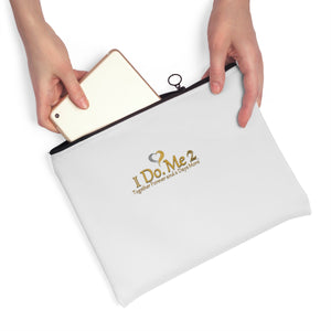 Gold/Silver IdoMe2 Carry All Pouch - Flat