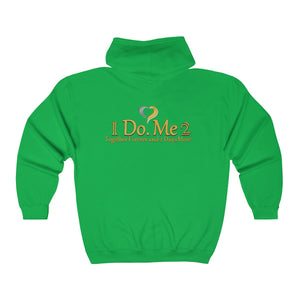 Unisex Heavy Blend™ IdoMe2 Full Zip Hooded Sweatshirt