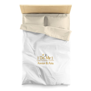 Rodgers Collection Microfiber IdoMe2 Duvet Cover