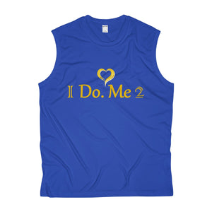 Gold/Silver Men's IdoMe2 Sleeveless Performance Tee