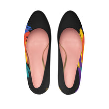 I Do Me2 Black/Colorful Women's Platform Heels