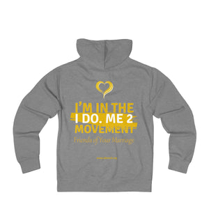 Unisex IdoMe2 Movement French Terry Zip Hoodie