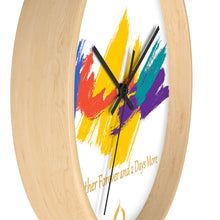 Colorful Splash Paint IdoMe2 Wall clock