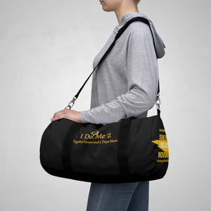 I Do Me 2 Black/Gold Duffle Bag