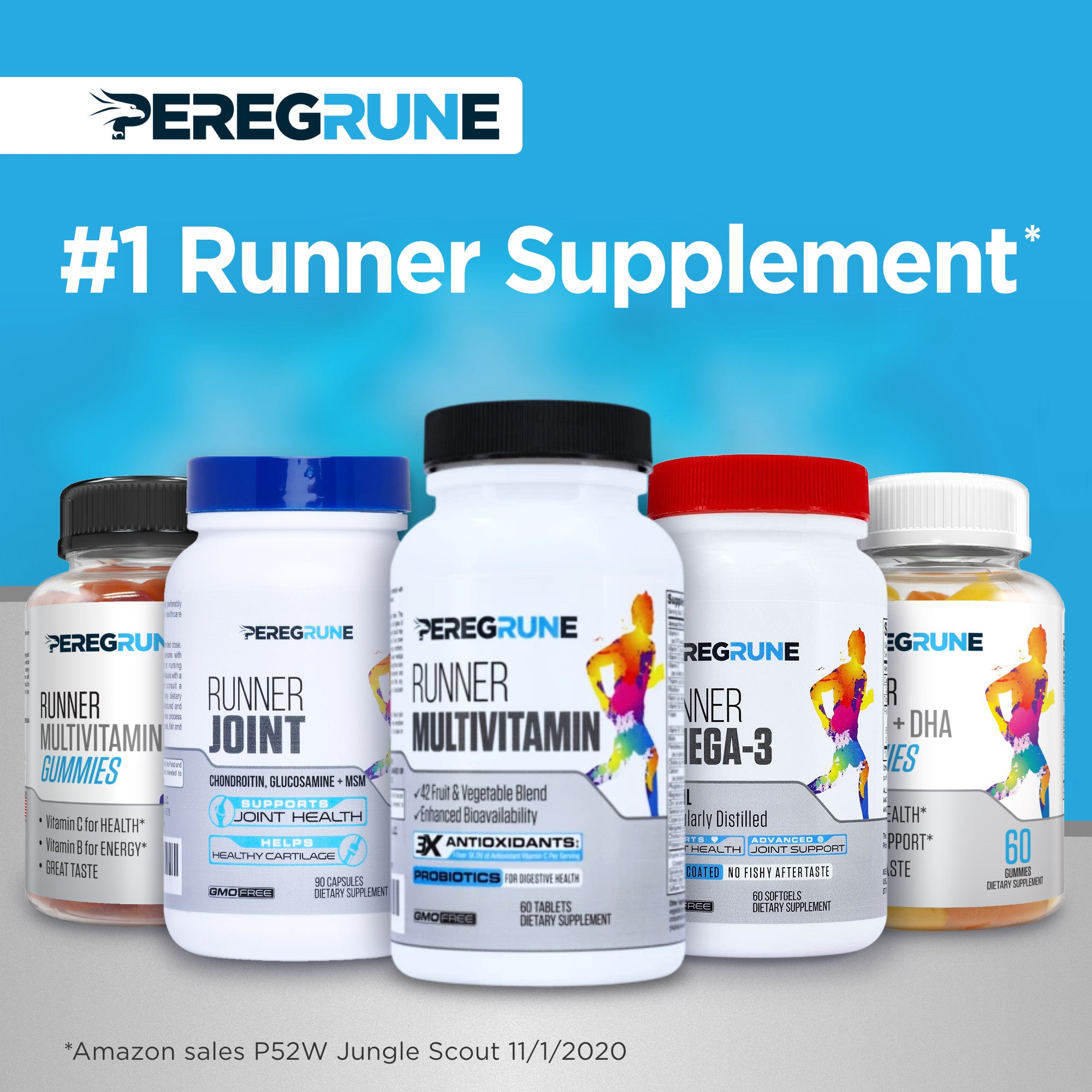 Runner Multivitamin Gummy (Vegetarian)