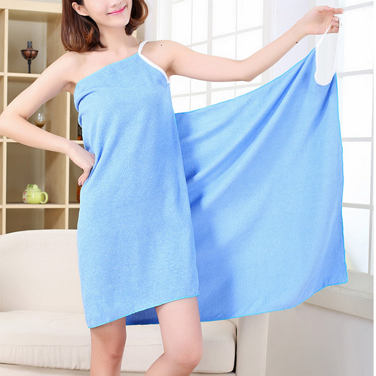 Female Microfiber Soft Bath Towel Shower Drying Washcloth Beach Towels