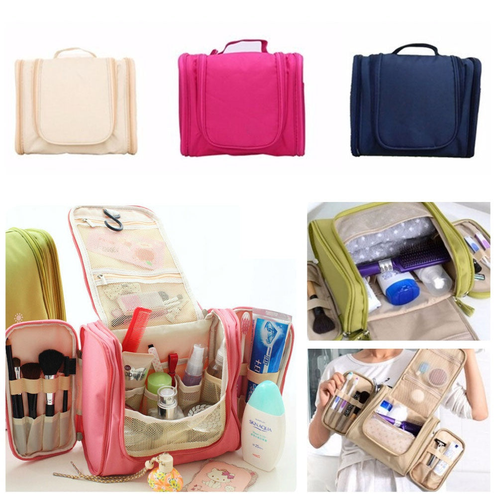 New Travel Toiletry Wash Cosmetic Makeup Case Hanging Organizer Bag
