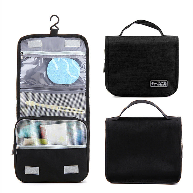 Waterproof Portable Cosmetic Storage Bag Travel Hanging Bag Makeup Organizer Case Pouch