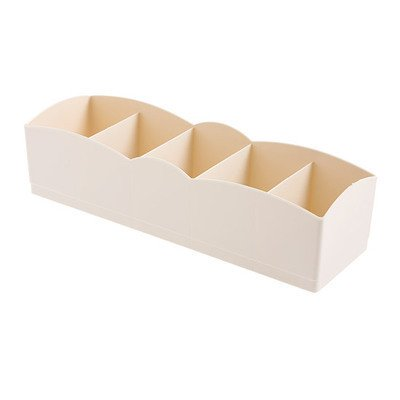 5 Slots Underwear Closest Cabinet Socks Storage Box