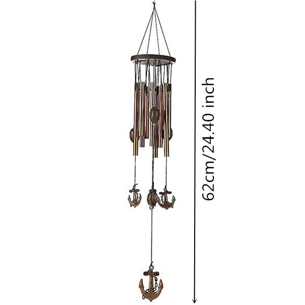 Yard Garden Outdoor Living 62cm 9 Tubes Wind Bell Chimes