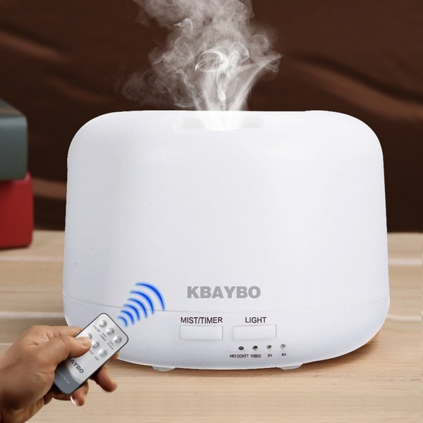 Remote Control Ultrasonic Air Aroma Humidifier Electric Aromatherapy Essential Oil Aroma Diffuser