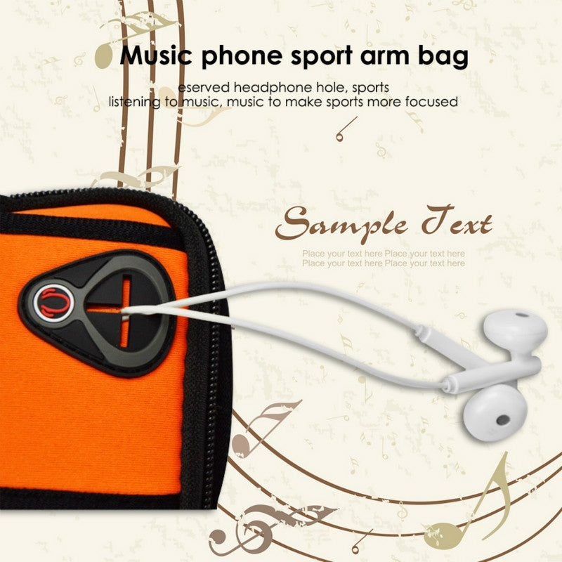 Sport Armband Running Flip Bag Case for iPhone Samsung