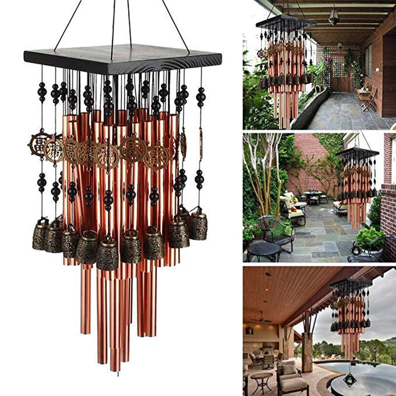 Outdoor Wind Chimes Copper Bells Large Wind Chime Garden Balcony Yard Decor