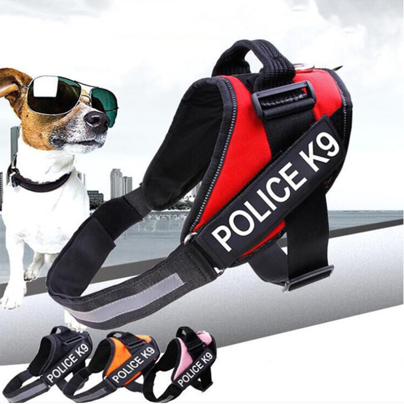 High Quality Outdoor Walking Pet Supplies Reflective Silk Pet Chest Strap