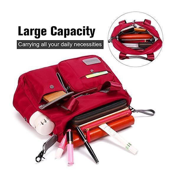 Women Waterproof Large Capacity Shoulder Bag