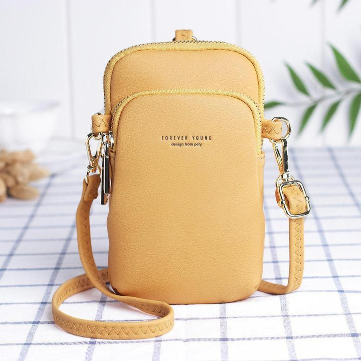 Lightly Design Casual Crossbody Phone Bag for Women