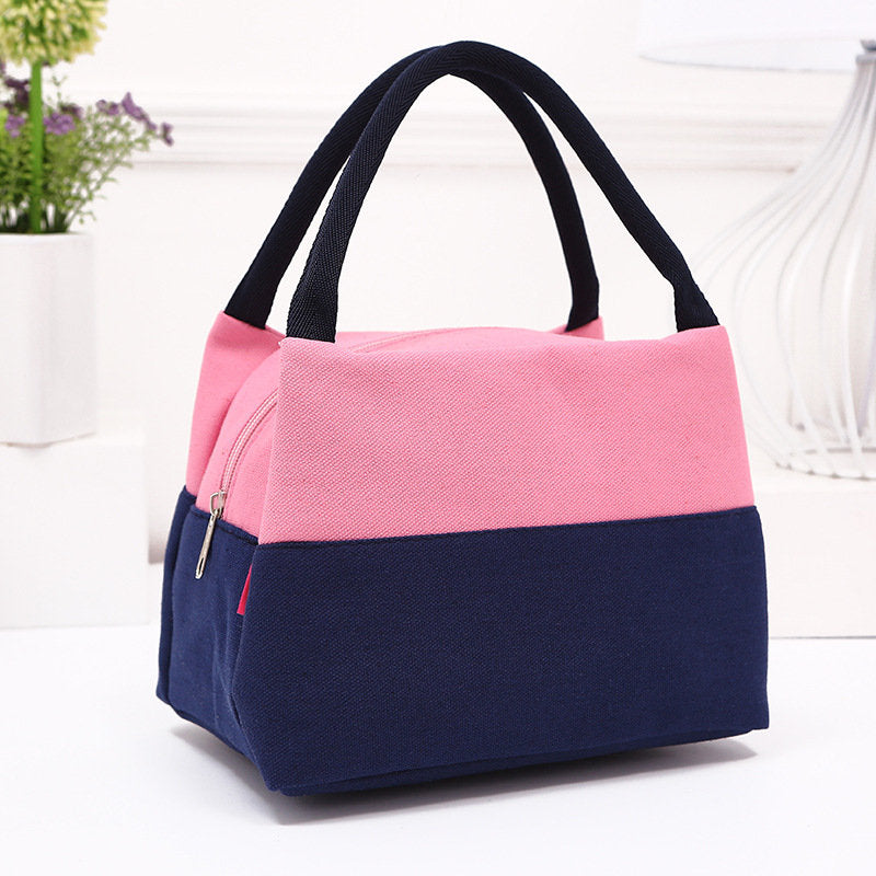 Large Capacity Women Lady Lunch Tote Bag Travel Food Organizer