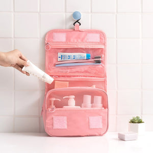Large Capacity Waterproof Wash Hang Bag Outdoor Cosmetic Travel Storage Bag