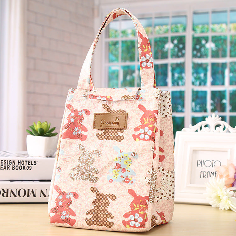 Environmentally Friendly Oxford Cloth Lunch Bag Insulation Bag Handbag