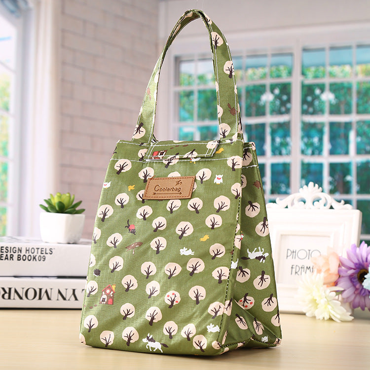 Environmentally Friendly Oxford Cloth Lunch Box Cooler Bag Handbag