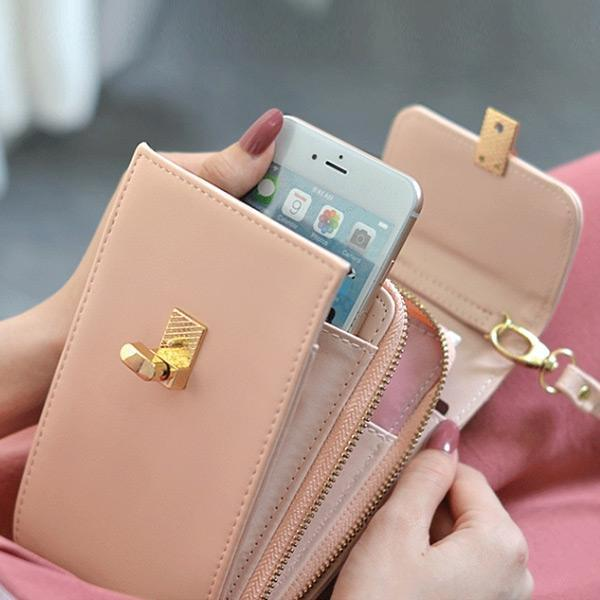 Women Mini Phone Coin Card Slot Crossbody Bag