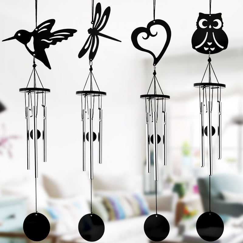 Various 3-Tube Metal Lucky Bell Oriental Hanging Wind Chime Feng Shui Decor
