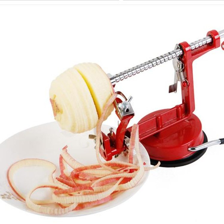 Portable Apple Peeler Multi-function Carrot Potato Slicing Skinning Tool Creative Home Kitchen 1pc 3 in 1