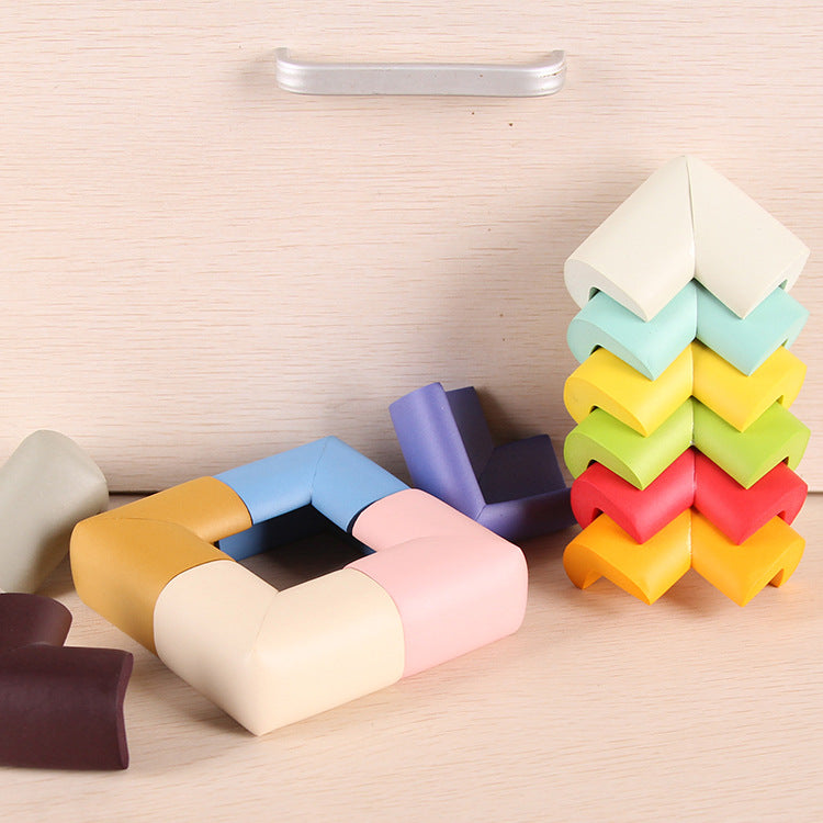 Multi-color Thick Type L-type Anti-collision Angle 8Pcs